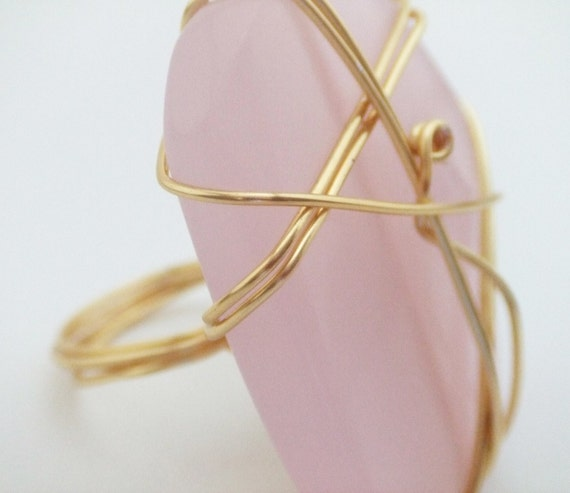 Chunky Pink Ring