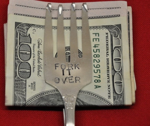 Fork It Over Money Clip