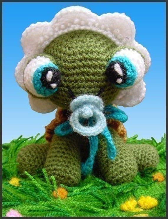 Baby Turtle - Amigurumi Pattern