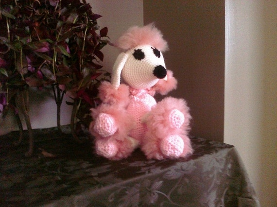 Prim and Pretty Pink Poodle