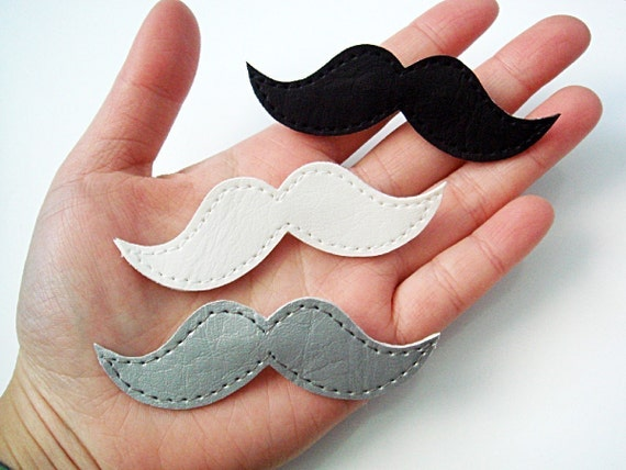 Fancy Moustache Pins