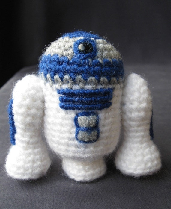PATTERN for R2-D2 - Star Wars Mini Amigurumi