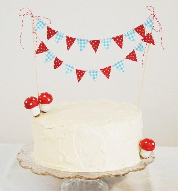 Cake Bunting MERRY