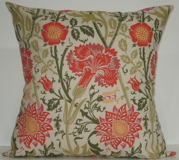 New 18x18 inch Designer Handmade Pillow Cases. Contemporary designer fabric in  pattern.