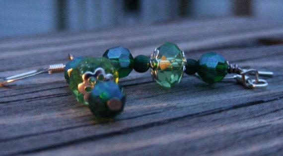 Green Sparkle Stick - Simple
