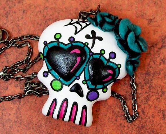 Sugar Skull Necklace L/E