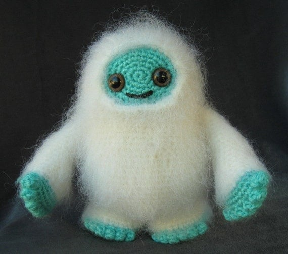 PATTERN for Adorable Monster Amigurumi