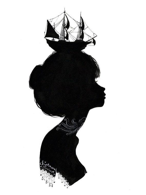 Original Silhouette - Boat Hat