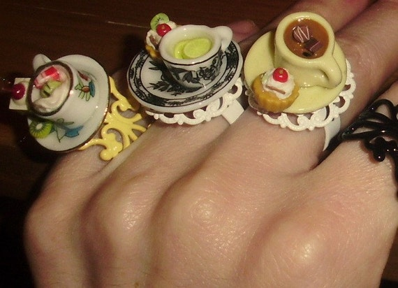 MARIE ANTOINETTE DESSERTS  3 MODELS Ring MTuent