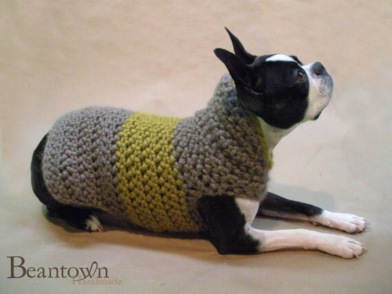Toffee High Collar Dog Sweater Custom Size and Color Up to 35lbs