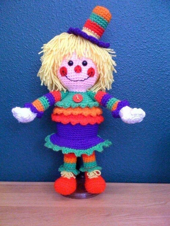 She Makes Me Smile Crochet Pattern