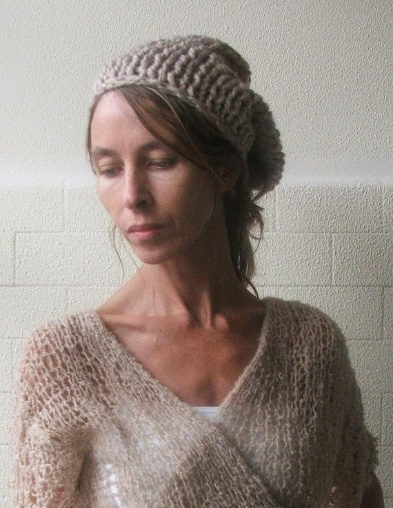 Fawn Chunky Hat . 4 left in this shade