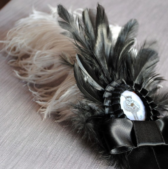 The Flying Circus-Victorian Gothic Hairpin