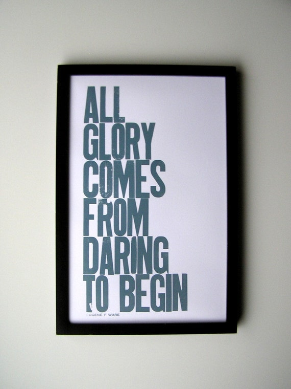 cool quote print