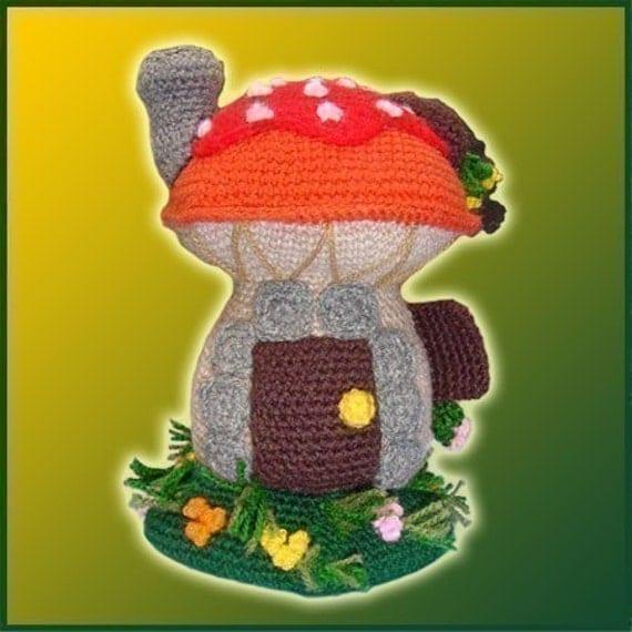 Mushroom house - Amigurumi Pattern