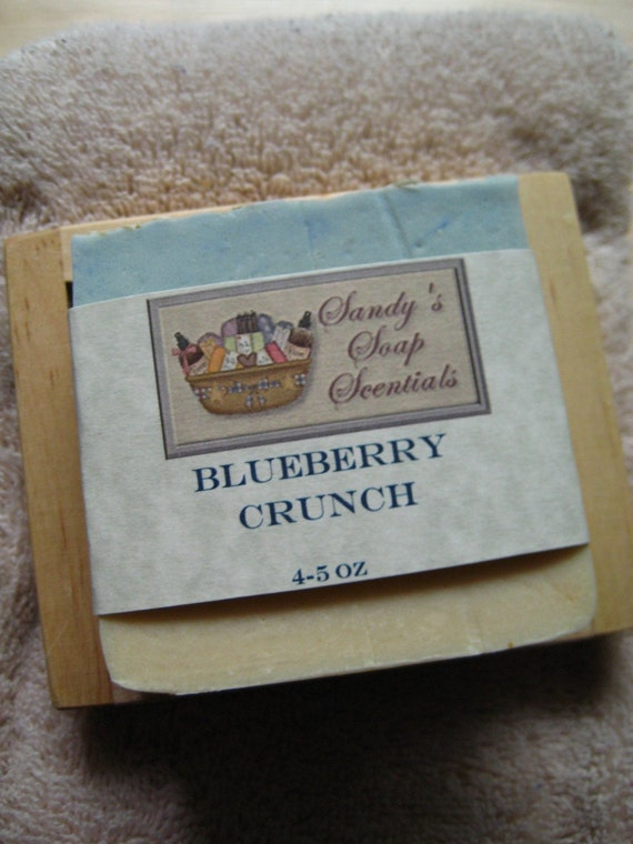 Blueberry Crunch Soap