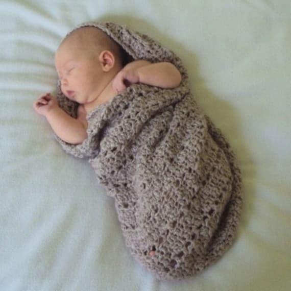 Little Peanut Snuggle Sack - Pattern PDF