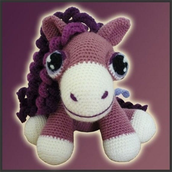Heather, The Pony - Amigurumi Pattern