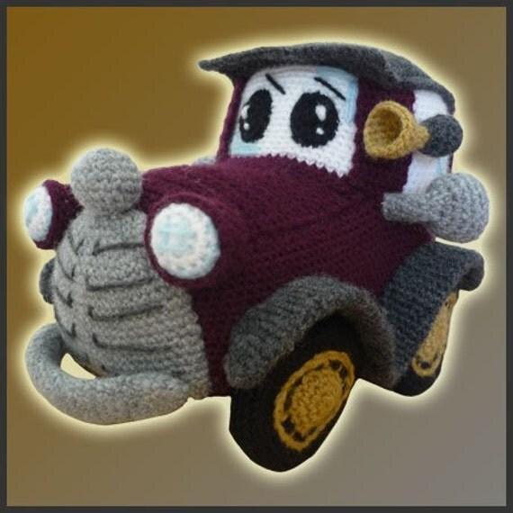 Classic Car - Amigurumi Pattern