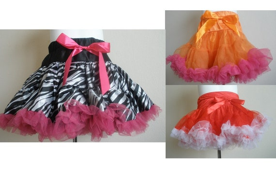 Little Girl Pettiskirts-Available in many sizes and colors-fancy, frilly, dress-up, special occasion, photo prop, photography, newborn, baby, toddler, pre-teen