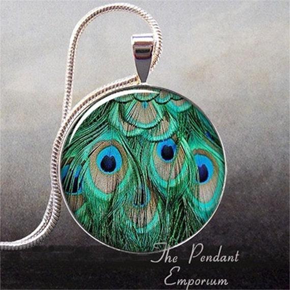 Peacock Feathers photo pendant (61)