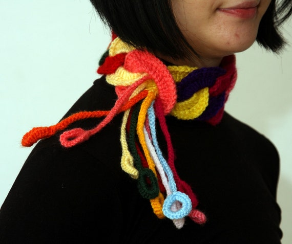 Colorful  neck-warmer