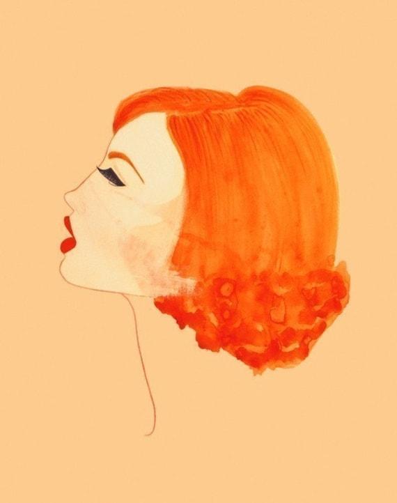 PRINT / Red lips / 8x10