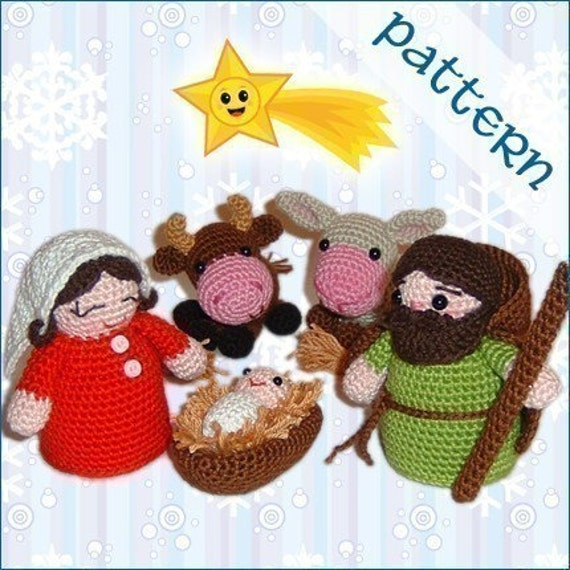 PDF Pattern - Nativity Set - Holy Family