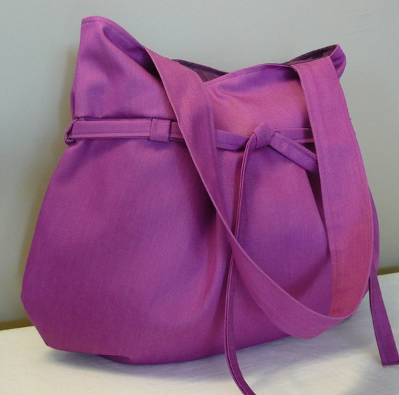 SALE...MAY... Everyday purse,Shoulder Bag,Fuchsia