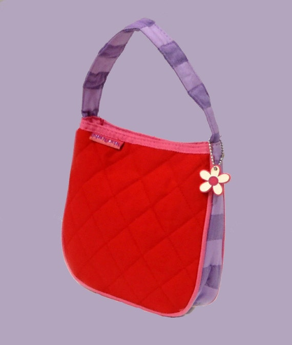 Child's Stephen Joseph Quilted LADYBUG Purse Mongramming Included