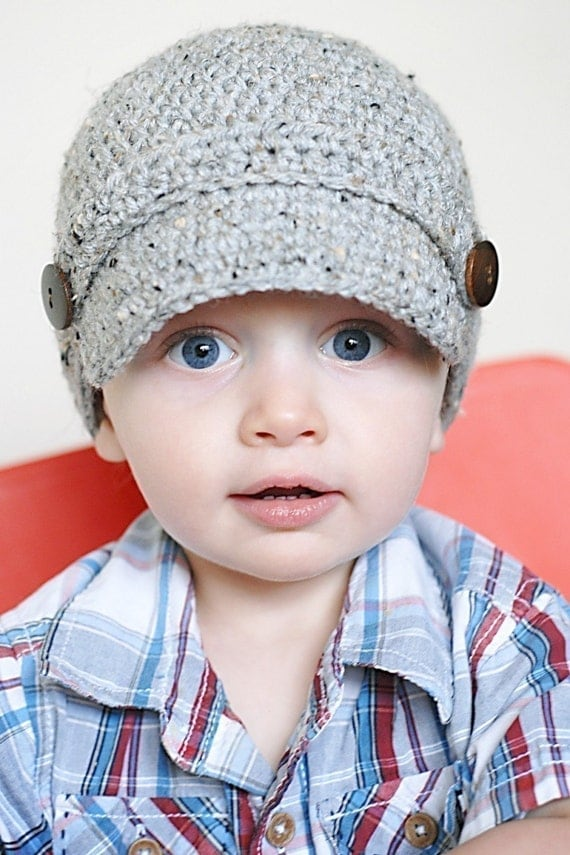 Crochet pattern, newsboy hat - Money Talks - How to make money