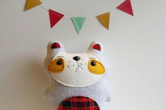 Ludlow - The Freckled Woodland Bear - Made to Order