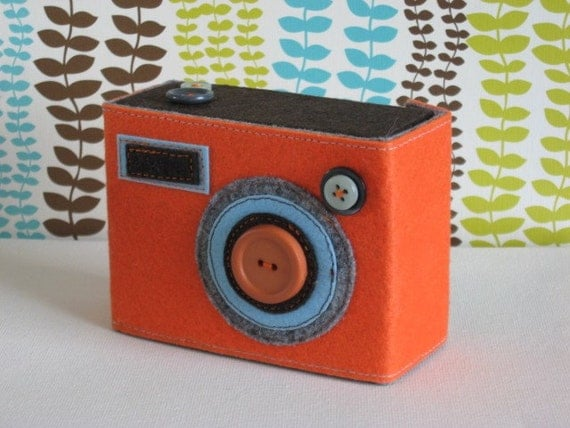 THE ECO BOXY FELT CAMERA CASE (your choice)