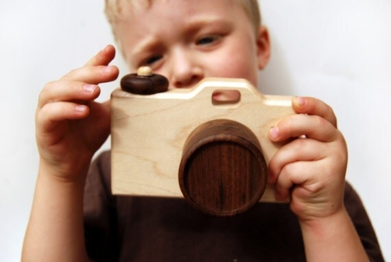 Personalized Toy Camera wooden toy kid toy
