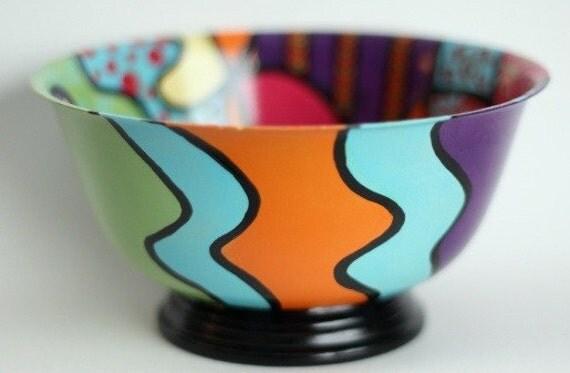 upcycled revereware bowl