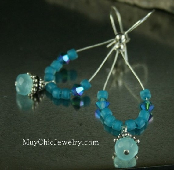 Chalcedony Rodelle Earrings