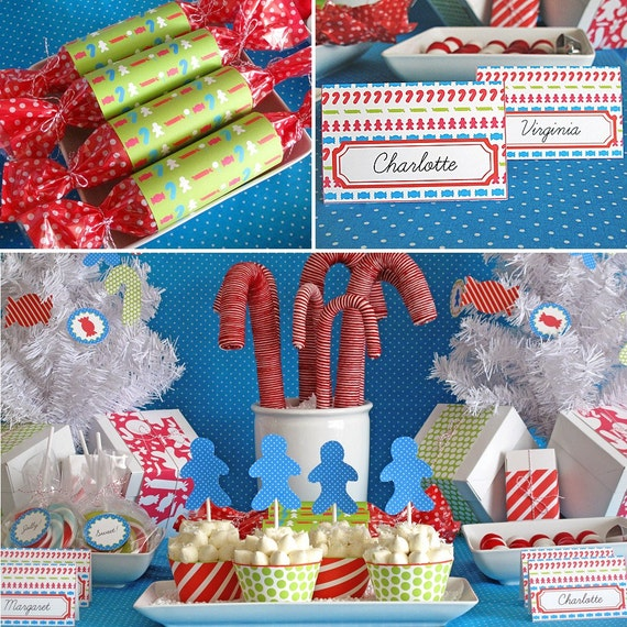 Printable Party Kit: Sweets and Treats Holiday Collection