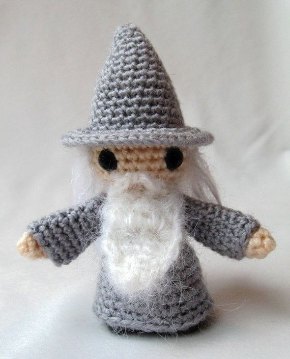 PATTERN for Witch or Wizard Mini Amigurumi