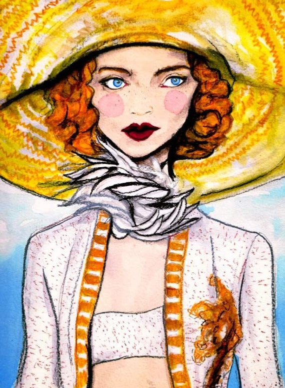 Marc Jacobs Spring 2011 8inx11in Art Print