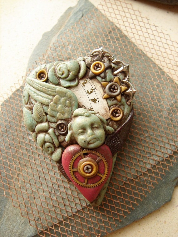 Heart of Stone Brooch 2 Time will Tell