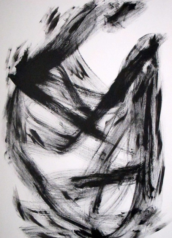 Black and White Abstract 1