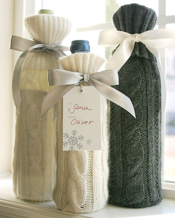 Sweater Wine Sleeve - Cream