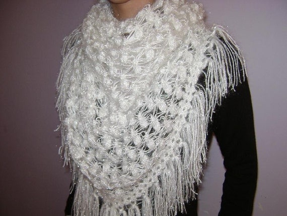 Free Crochet Patterns For Bridal Shawls : Hibbe Bags: January 2011