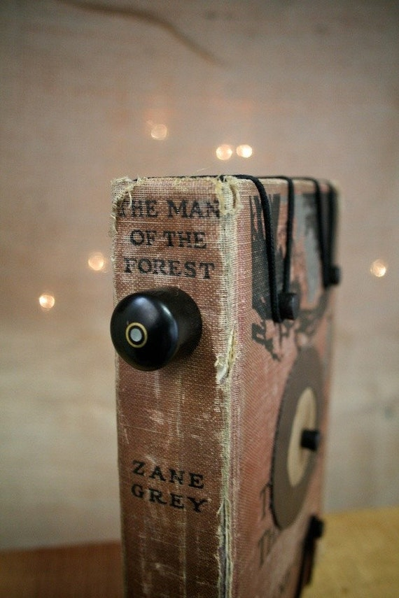Zane Grey - Hardback Book Pinhole Camera