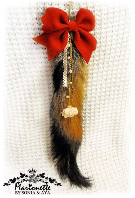 Red Riding Hood Fox Fur Tail