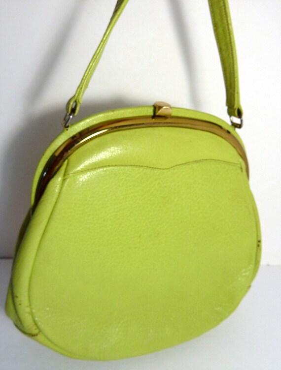 Vintage Green Purse