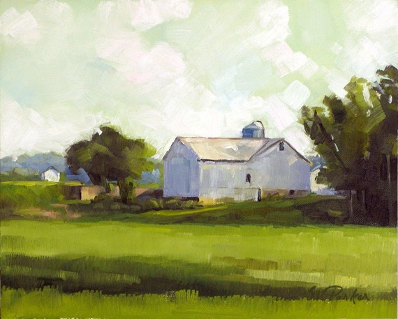 Afternoon Haze -- original oil painting