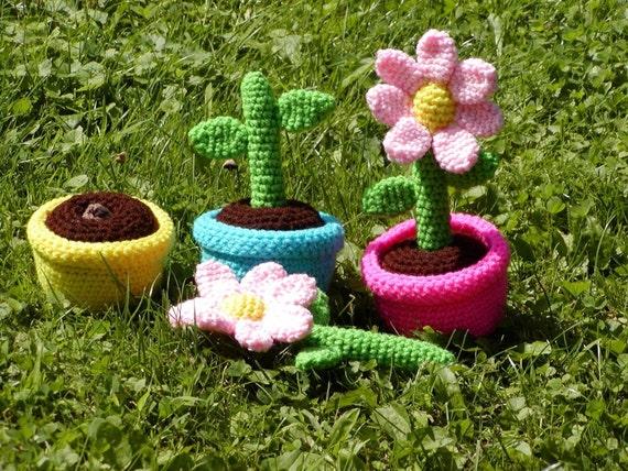 PATTERN-------Growing Flowers Preschool and Toddler Set--Handmade