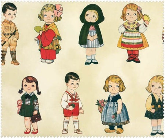 Travel on Red, Paper Dolls Around the World