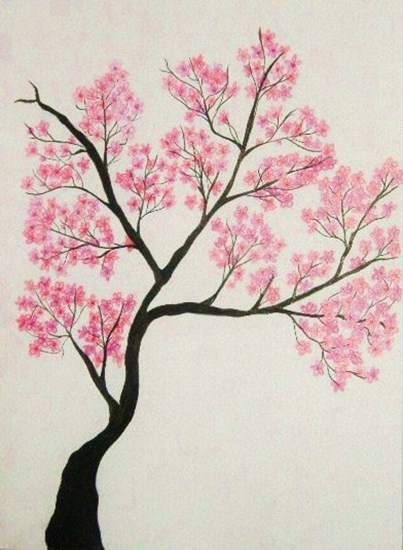 Blossom Tree Drawing: Taylor Swift Buzz: Cherry Tree Drawing In Blossom